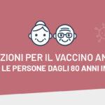 Locorotondo: vaccino anti-covid, al via prenotazioni per gli ultra ottantenni