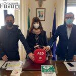 Orizzonti Futuri Onlus: donati tre defibrillatori a Locorotondo e Noci
