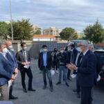"""M5S in visita al cantiere di Montetullio: """"al lavoro per estendere al 2023 il Superbonus 110%"""""""