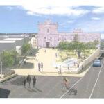 Partiti i lavori in piazza Mario Pagano. L'amministrazione: continua la riqualificazione della città