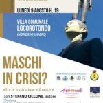"""""""Maschi in crisi?"""", il sociologo Stefano Ciccone ospite a Locorotondo: come fermare la violenza contro le donne e gli stereotipi di genere"""